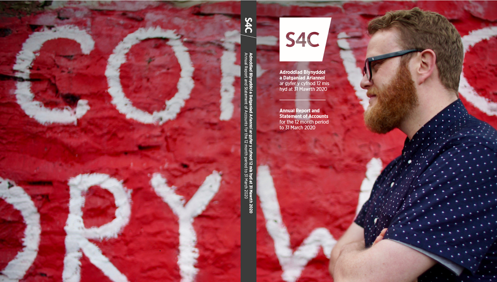 Growth of S4C Clic – the message of channel's Chief Executive as Annual Report is published