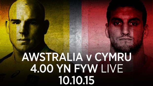 Cymru v Awstralia