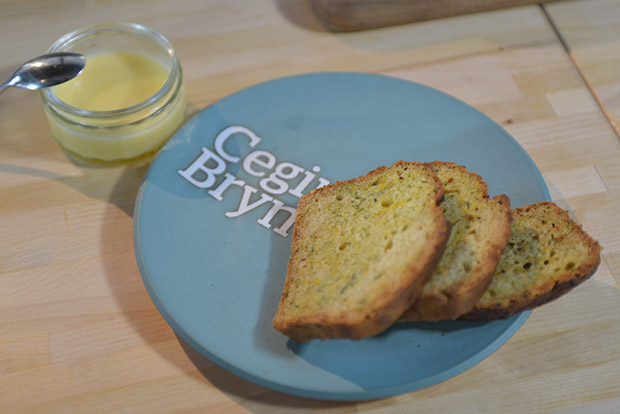 Courgette and Lemon Thyme Cake