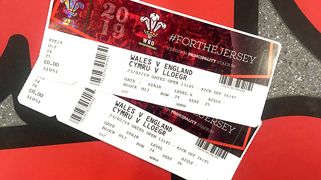 Wales v England Tickets Competition