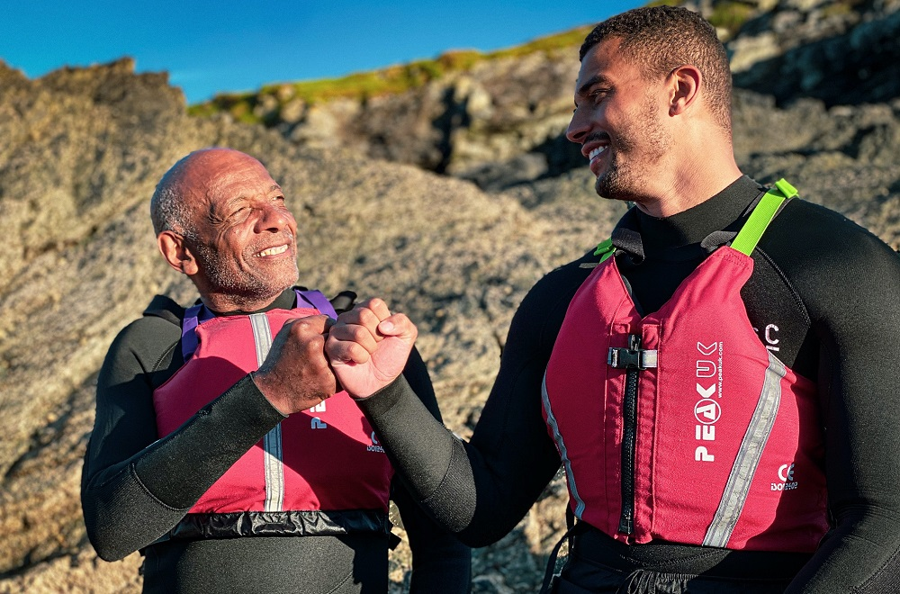 Love Island's Connagh Howard and his dad explore the islands of Wales in new television series