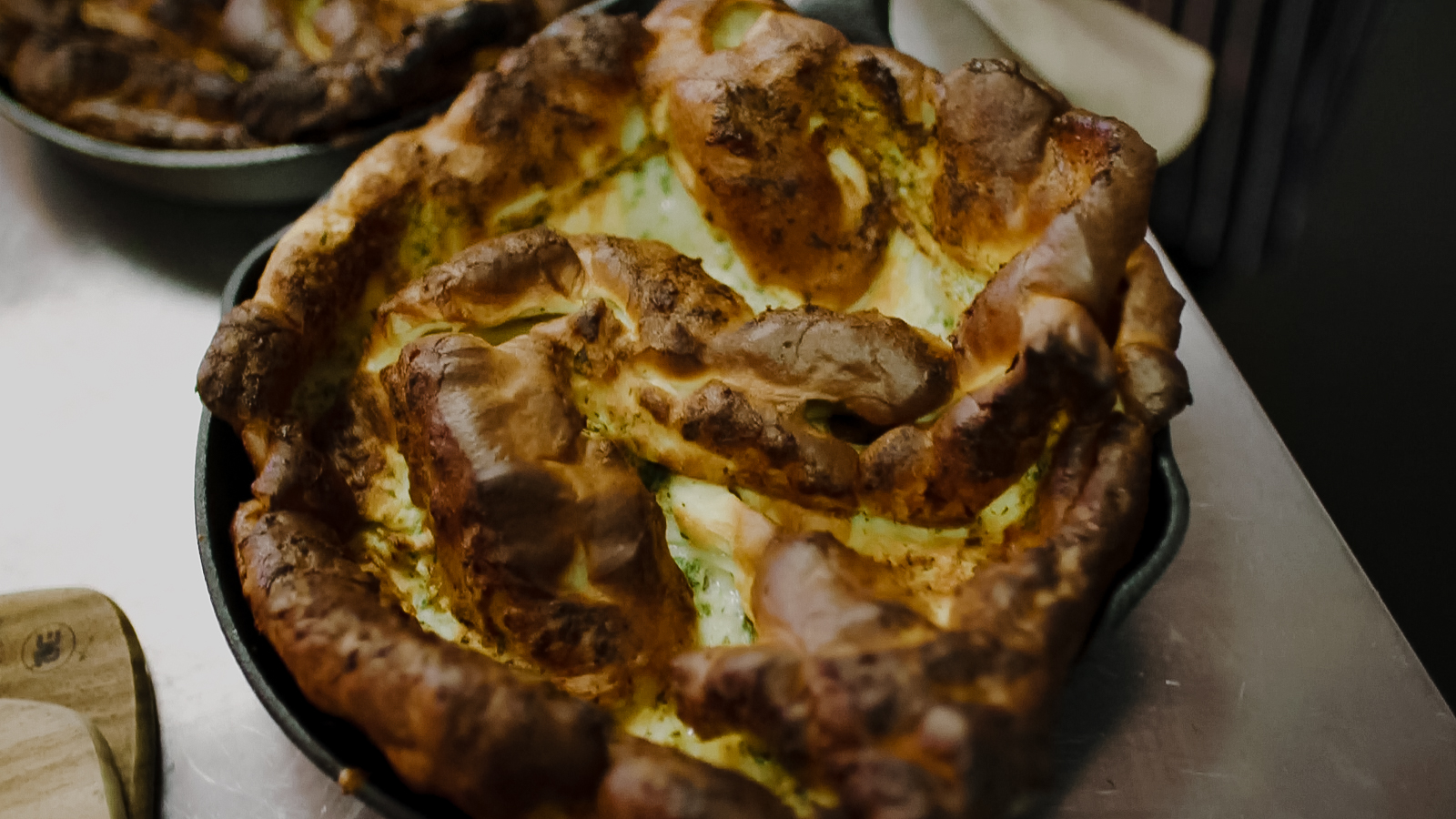 Giant Skillet Yorkshire Pudding