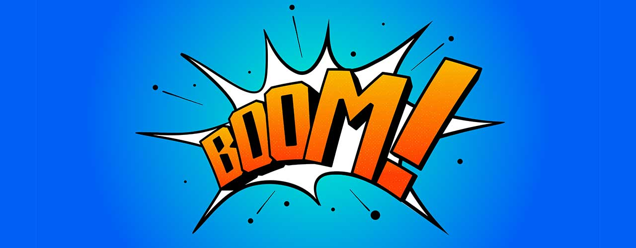 Image result for boom