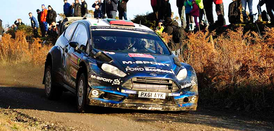 NEWLY crowned World Rally Champion Sebastien Ogier signed off the season in style with victory at the Wales Rally GB
