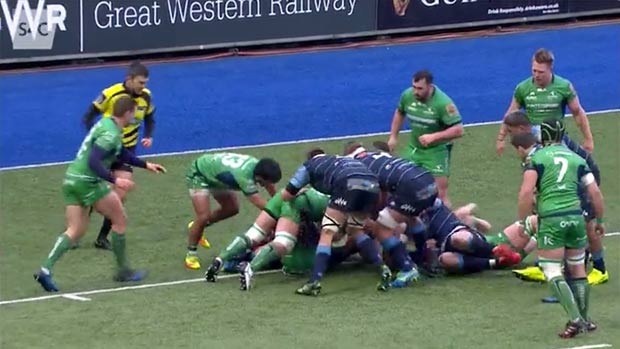 Cardiff Blues v Connaught Highlights