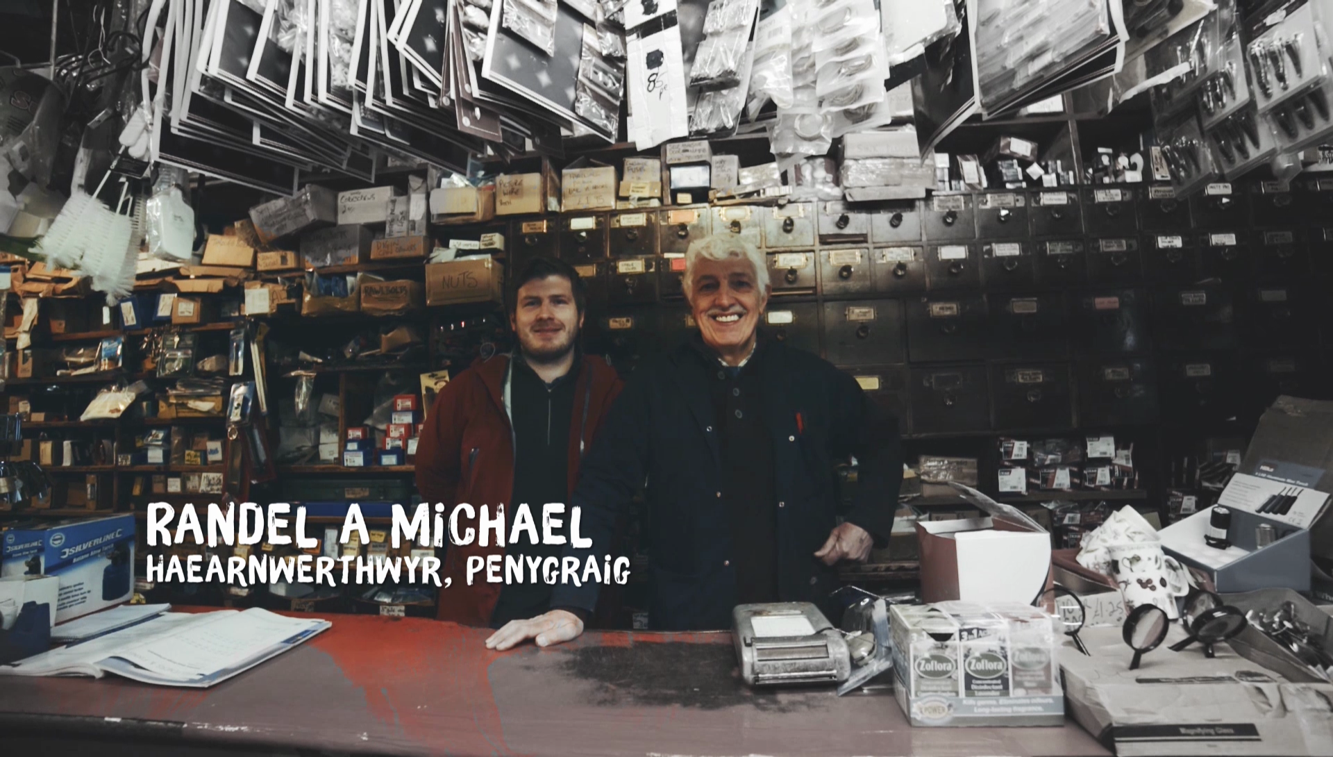 Randel and Michael - Ironmongers